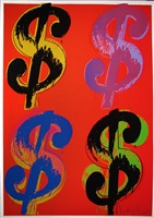 $ (4), [ii.281] by andy warhol